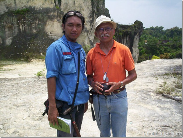 me and Prof Sampurno