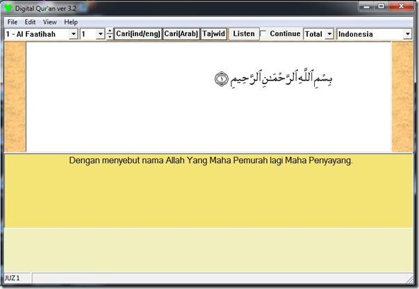 Al-Quran Digital   Wingman Arrows